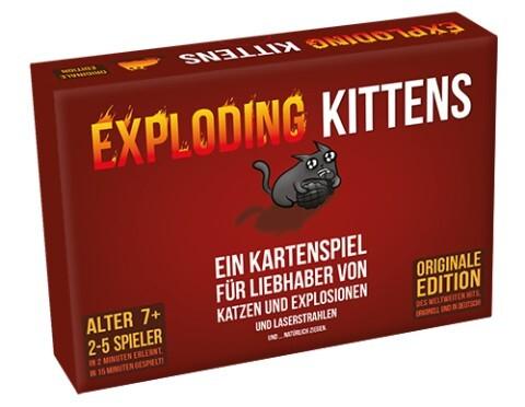 Exploding Kittens als Spielwaren