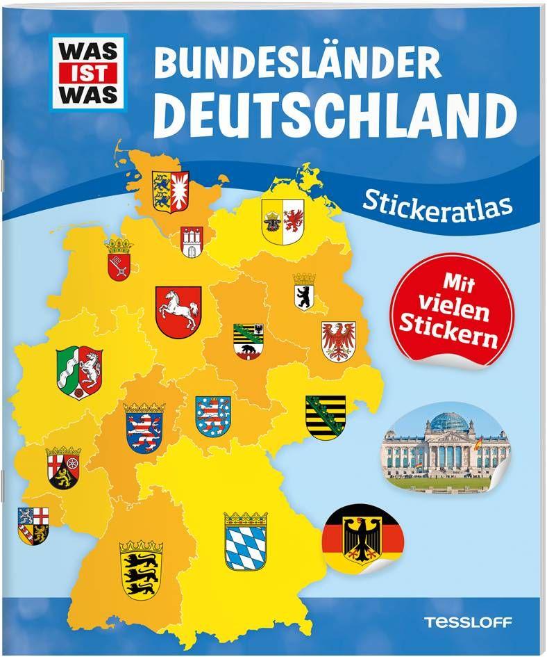 WAS IST WAS Bundesländer Deutschland als Buch von
