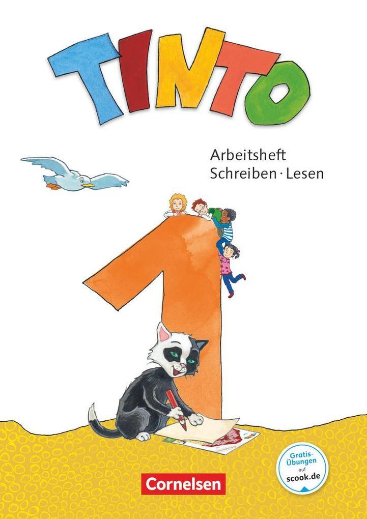 Tinto 1 1. Schuljahr - Arbeitsheft Schreiben/Lesen als Buch