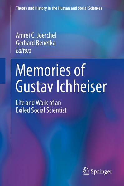 Memories of Gustav Ichheiser als Buch von