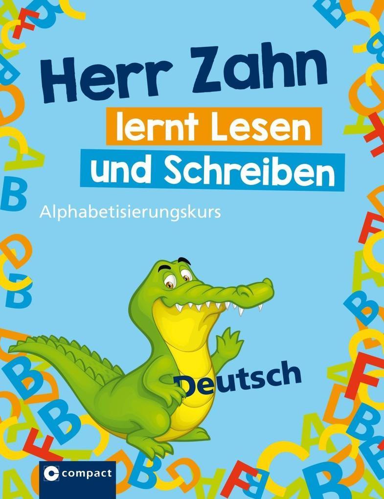 Herr Zahn lernt lesen und schreiben als Buch vo...