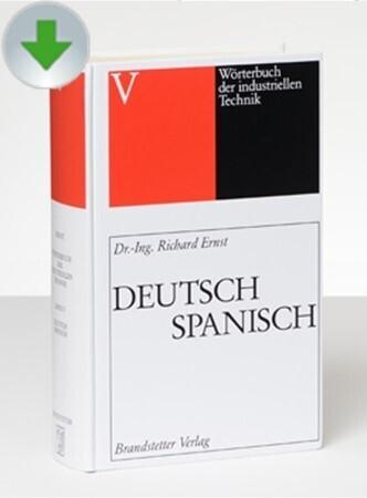Deutsch-Spanisch/Spanisch-Deutsch