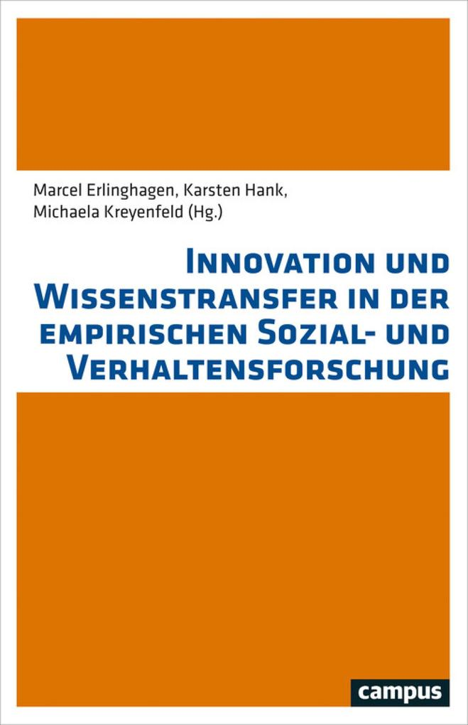 Innovation und Wissenstransfer in der empirisch...