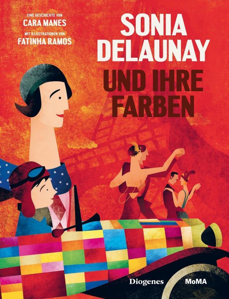 Sonia Delaunay und ihre Farben als Buch (gebunden)