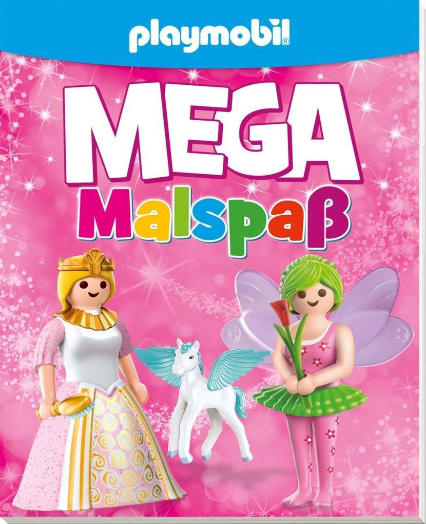 Playmobil Ausmalbilder Mädchen : Playmobil Mega Malspa F R M Dchen Buch
