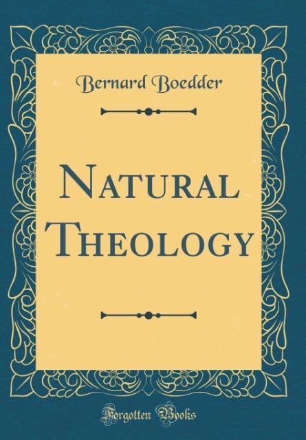 Natural Theology (Classic Reprint) als Buch von...