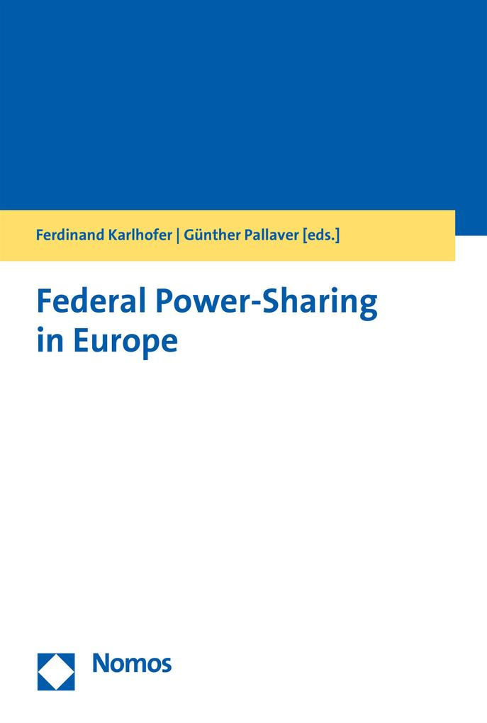 Federal Power-Sharing in Europe als eBook Downl...