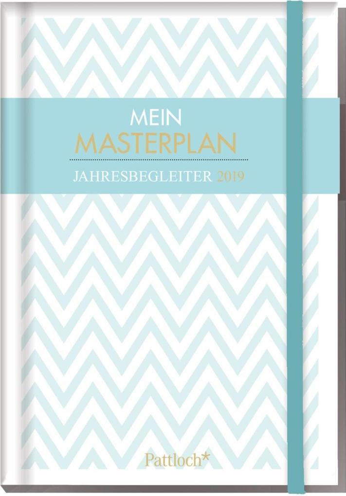 Mein Masterplan - Buchkalender 2019