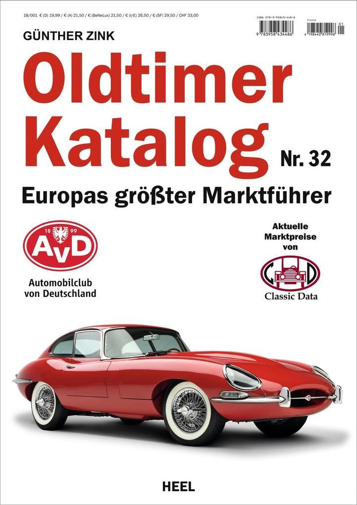 Oldtimer Katalog Nr. 32 als Buch von Günther Zink
