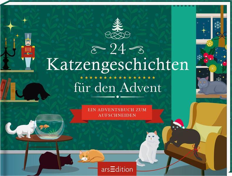 24 Katzengeschichten für den Advent als Buch