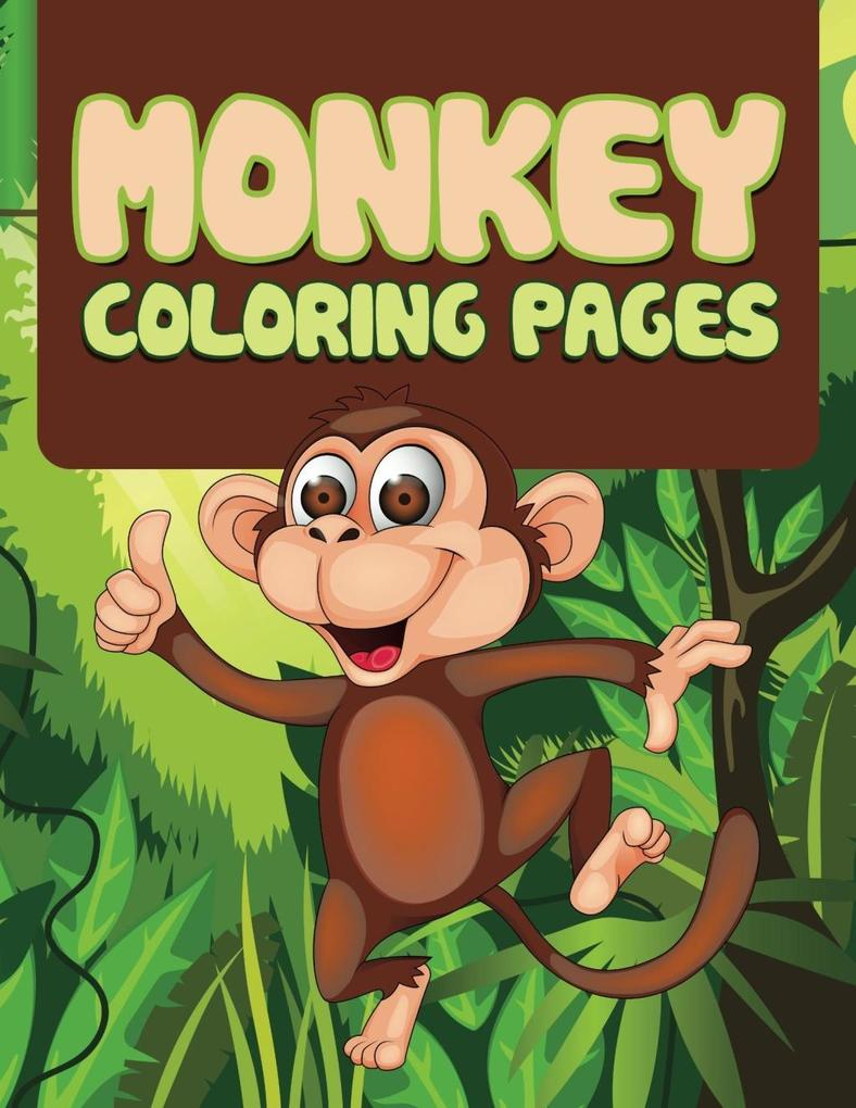 Monkey Coloring Book For Kids als eBook Downloa...