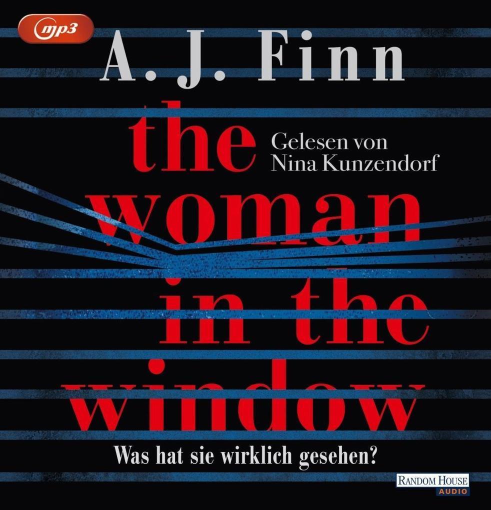 The Woman in the Window - Was hat sie wirklich gesehen?, 2 Audio, als Hörbuch CD