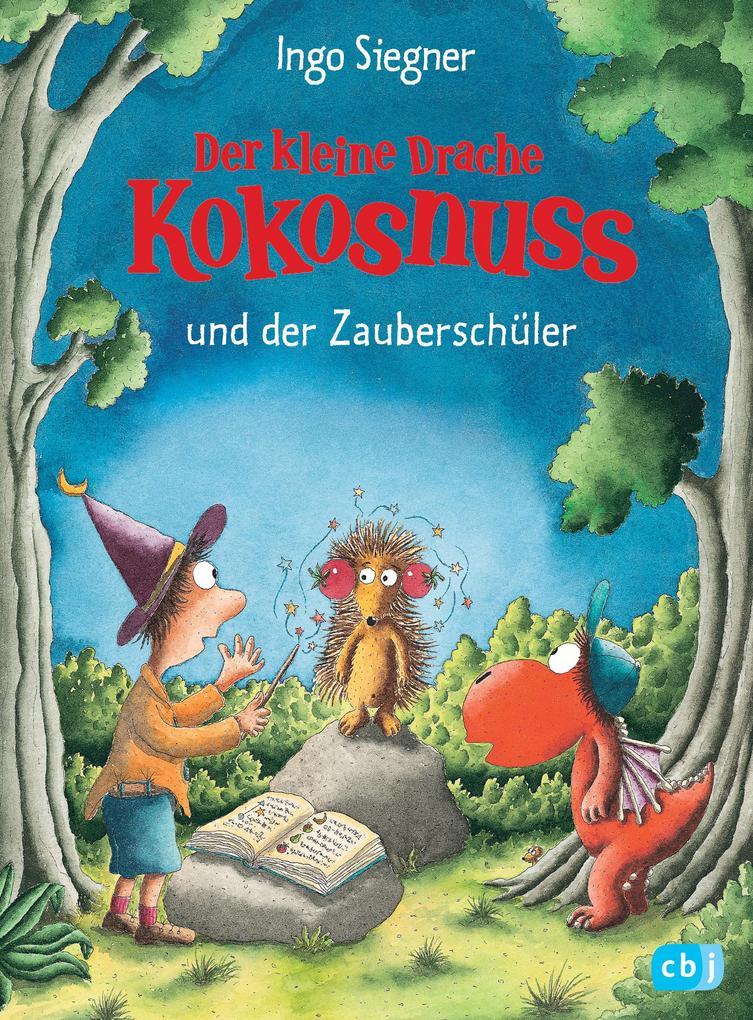 Der kleine Drache Kokosnuss und der Zauberschüler als Buch