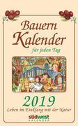 Bauernkalender für jeden Tag 2019 Tagesabreißkalender