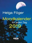 Mondkalender für jeden Tag 2019 Taschenkalender