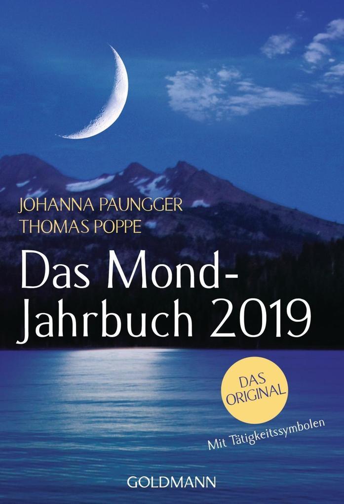 Das Mond-Jahrbuch 2019 als Taschenbuch
