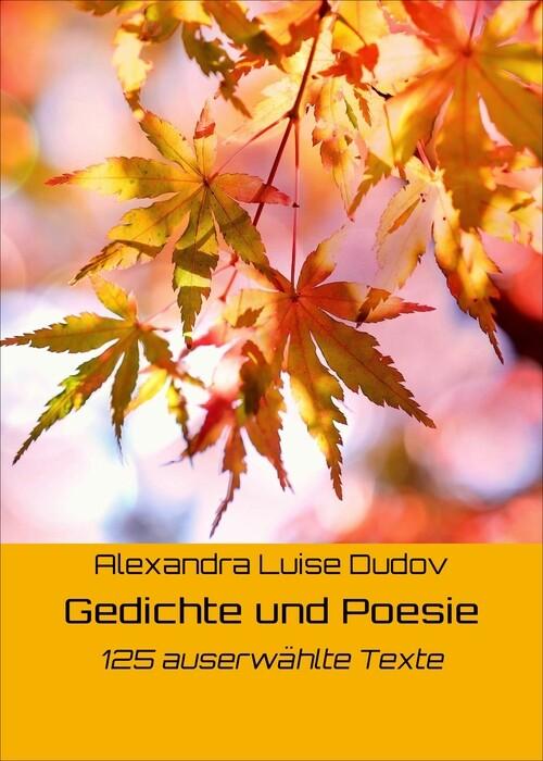 Gedichte und Poesie als eBook Download von Alex...