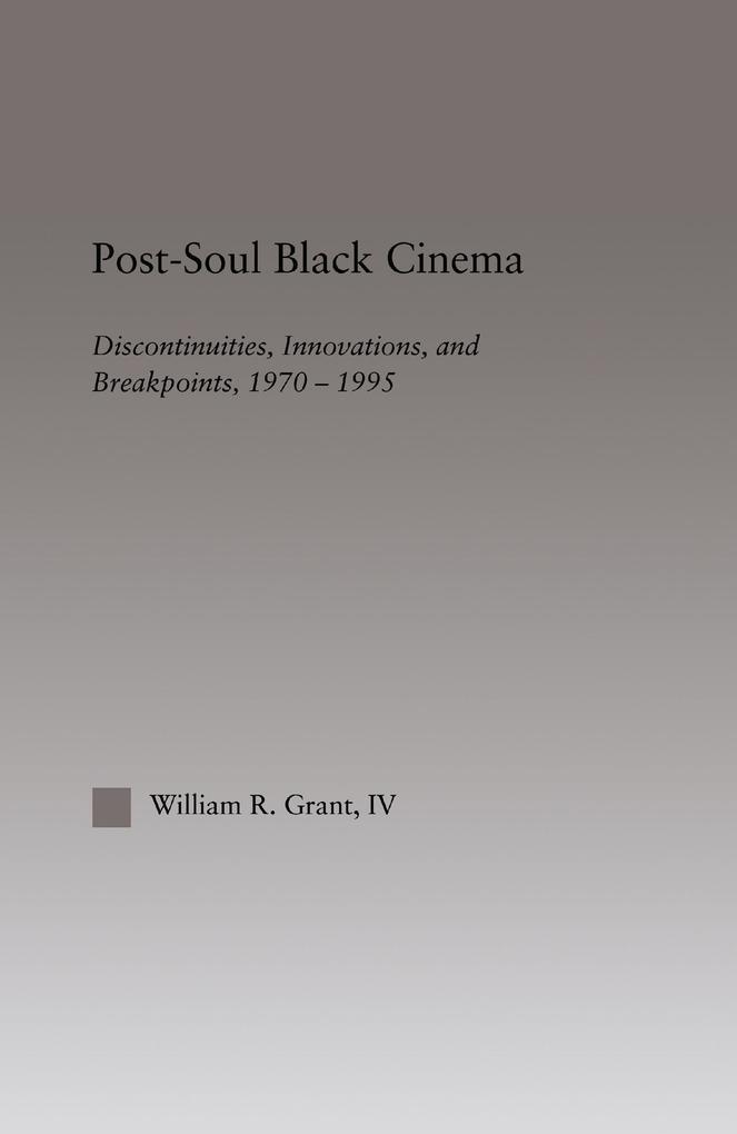 Post-Soul Black Cinema als eBook Download von W...