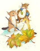 Die Hobis auf der Jagd nach dem Regenbogenblatt