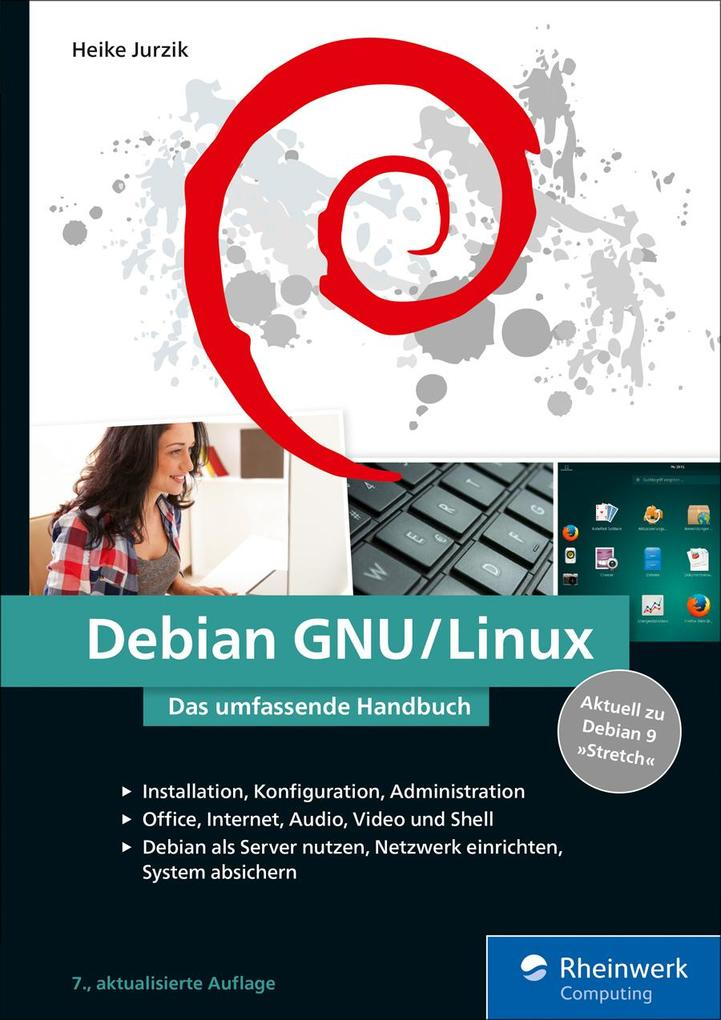 Debian GNU/Linux als eBook Download von Heike J...