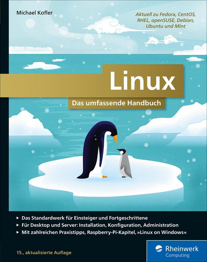 Linux als eBook Download von Michael Kofler