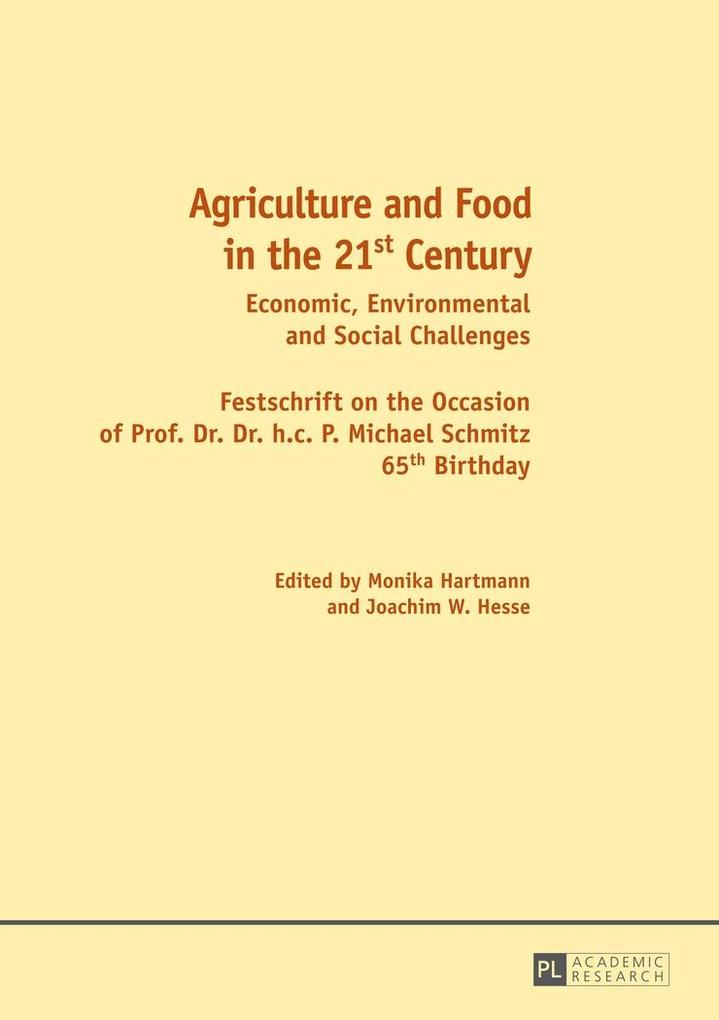 Agriculture and Food in the 21 st Century als e...