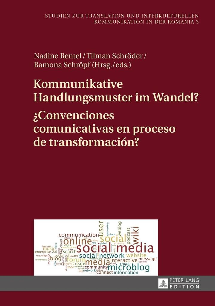 Kommunikative Handlungsmuster im Wandel?- Conve...