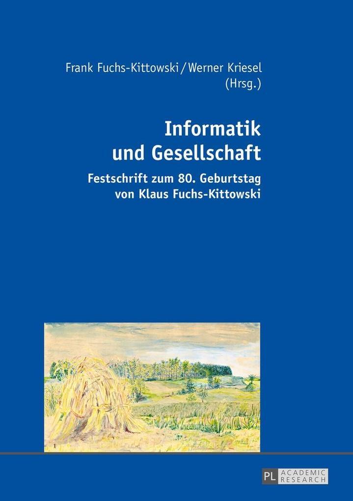 Informatik und Gesellschaft als eBook Download von