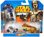 Hot Wheels Hero - Star Wars - Character Car er-Pack R2-D2 und C3PO