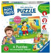Ravensburger Spiel - ministeps - 1.Puzzle Streichelzoo
