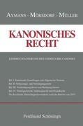 Kanonisches Recht Band I-IV. Plus Ergänzungsband