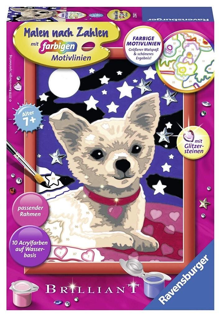 Lieber Chihuahua Malen nach Zahlen Sonderserie E