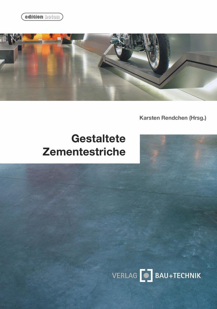 Gestaltete Zementestriche als eBook