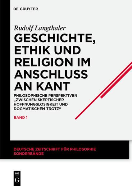 Geschichte, Ethik und Religion im Anschluß an Kant als Buch (gebunden)