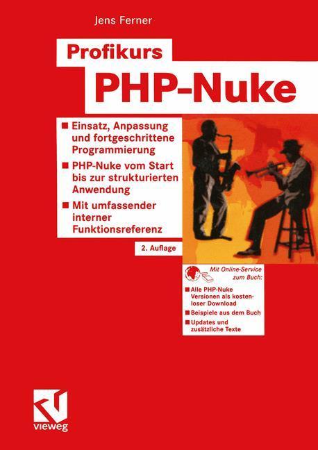 Profikurs PHP-Nuke als Buch von Jens Ferner