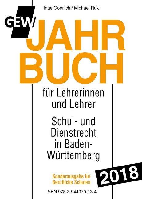 GEW-Jahrbuch 2018 - Sonderausgabe Berufliche Sc...