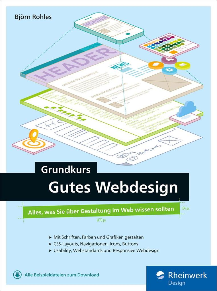 Grundkurs gutes Webdesign als eBook Download vo...