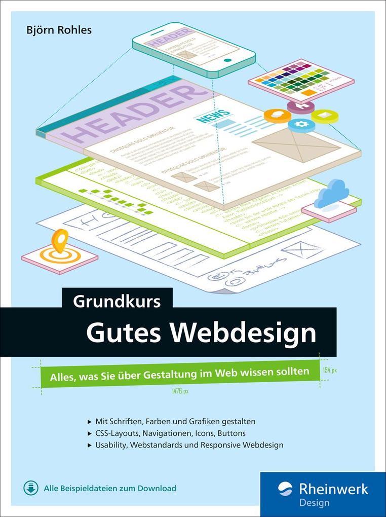 Grundkurs gutes Webdesign als eBook Download vo...