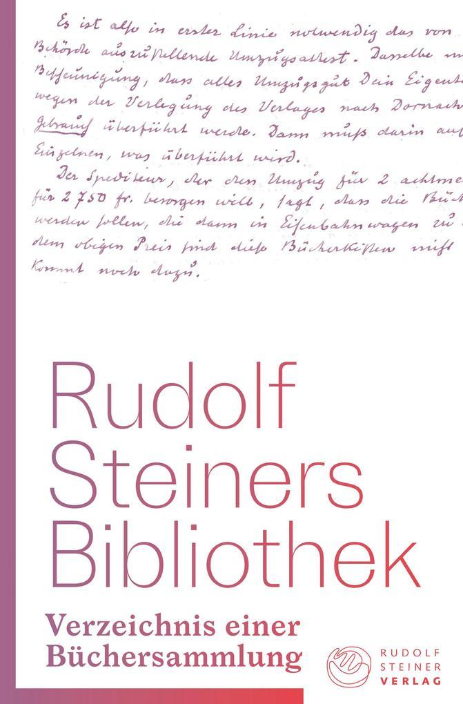 Rudolf Steiners Bibliothek als Buch