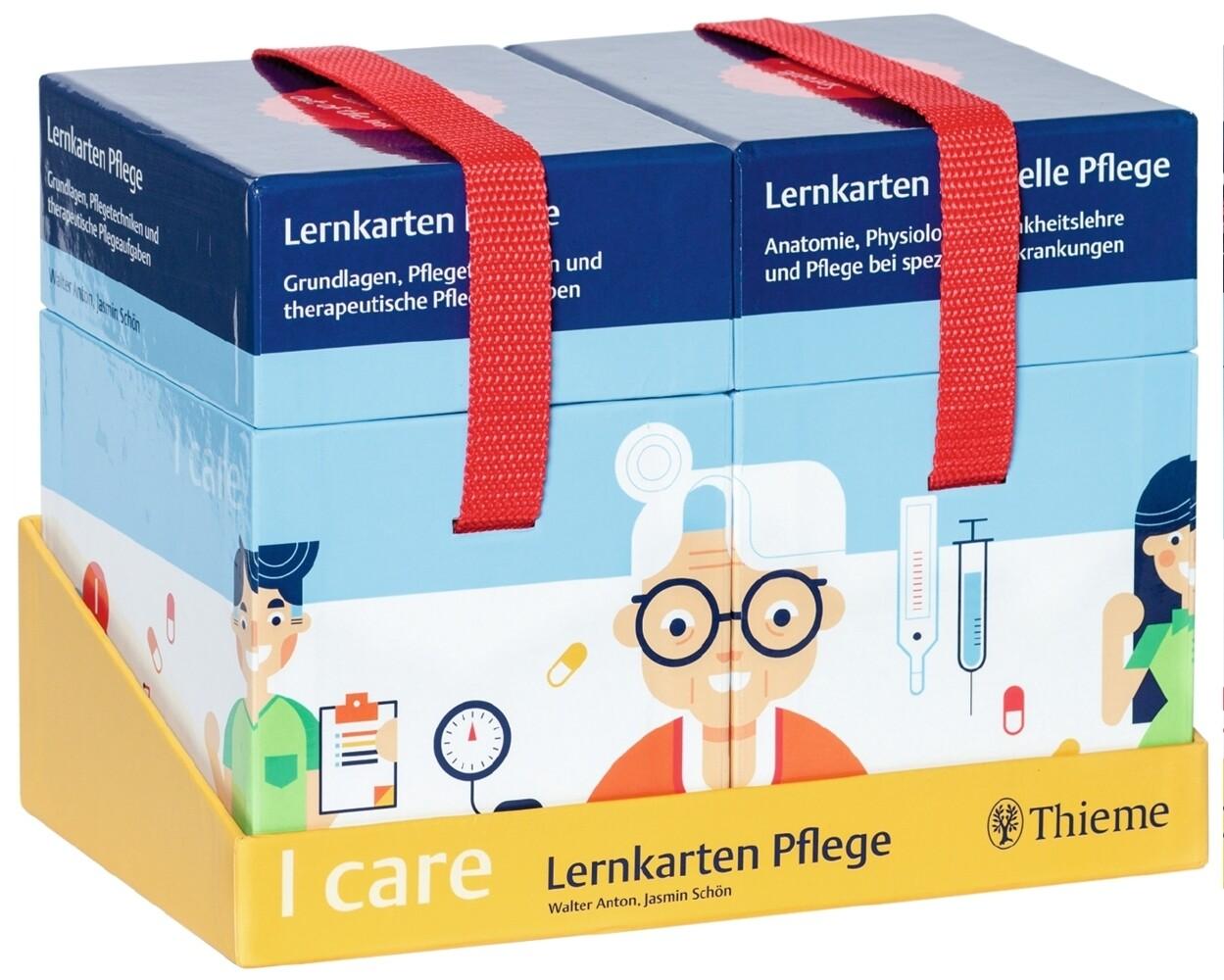 I care Lernkarten Pflege - Set (im Schuber) als Buch