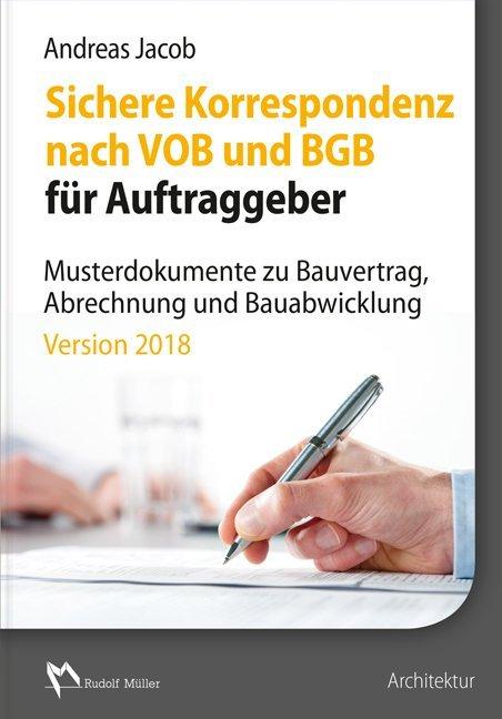 Sichere Korrespondenz nach VOB und BGB für Auft...