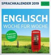 PONS Sprachkalender 2019 Englisch Woche für Woche