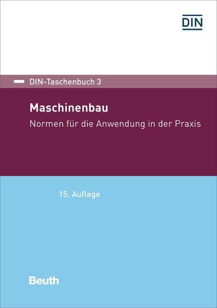 Maschinenbau als Buch von