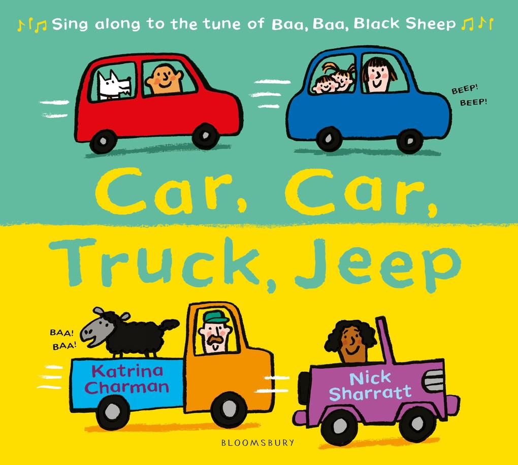 Car, Car, Truck, Jeep als Buch von Katrina Charman