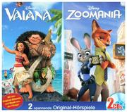 Disney Doppel-Box: Vaiana / Zoomania