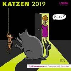 Katzen - Postkartenkalender 2019