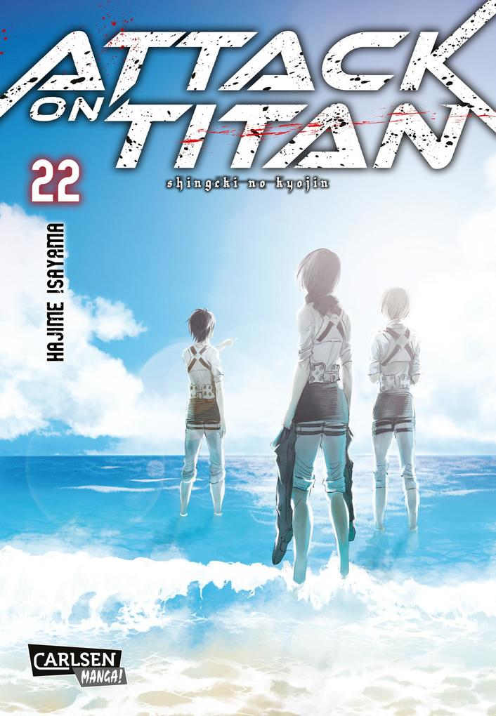 Attack on Titan 22 als Buch