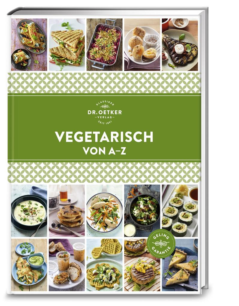 Vegetarisch von A - Z als Buch