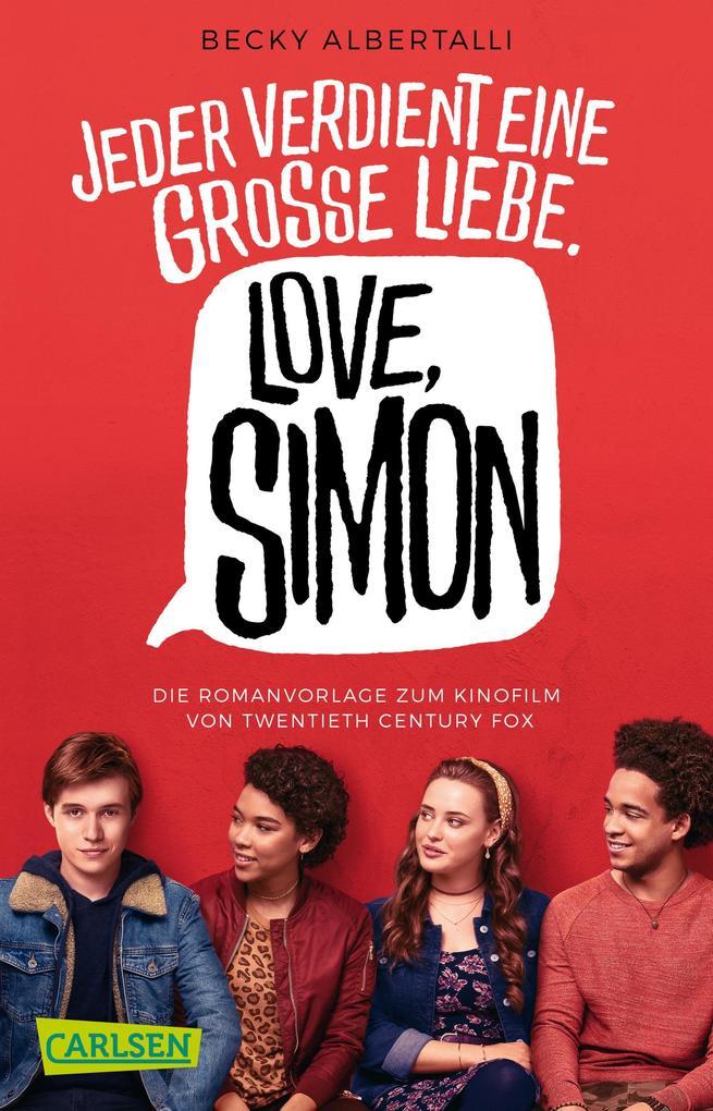 Love, Simon (Filmausgabe) als Taschenbuch