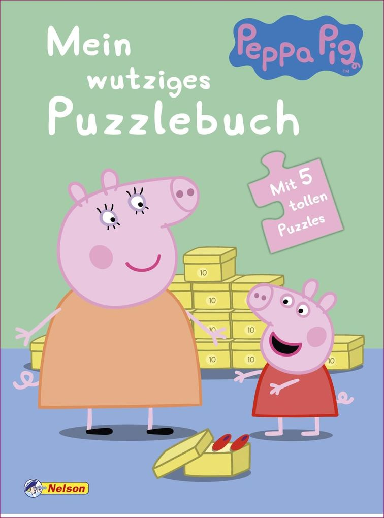 Peppa: Mein wutziges Puzzlebuch als Buch